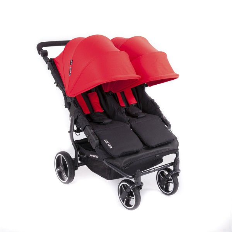 Carrelli gemellati + Cappa Easy Twin 3S - Baby Monsters