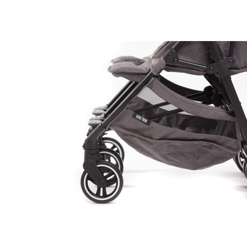 Passeggino gemellare + Cappa Kuki Twin - Baby Monsters
